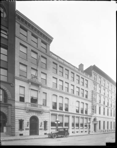 Commonwealth Life Insurance Company Building Northwestern Corner