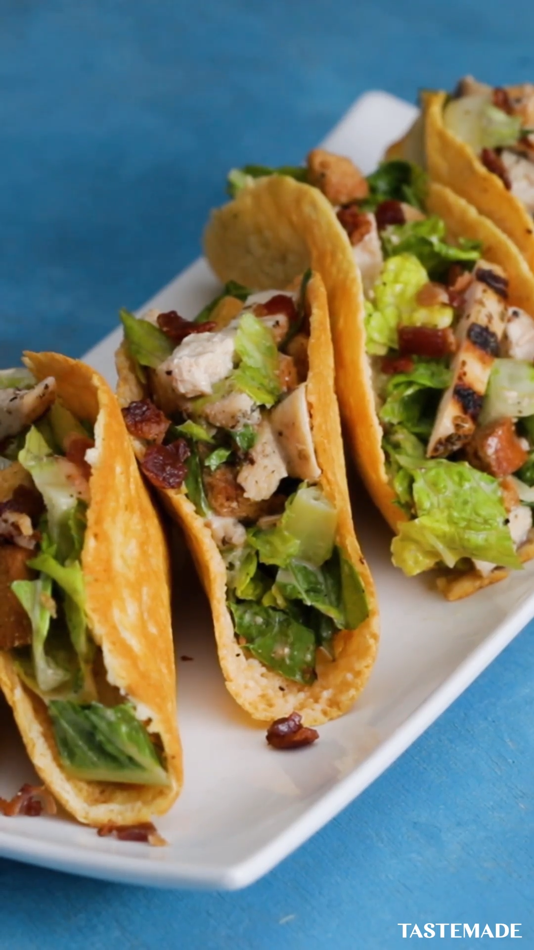 Photo of Chicken Caesar Salad Tacos