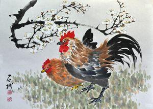 Korean Large Rooster