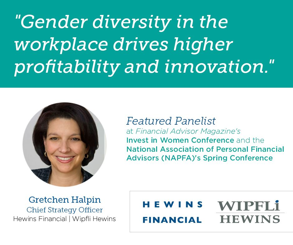 We believe that gender diversity in the workforce