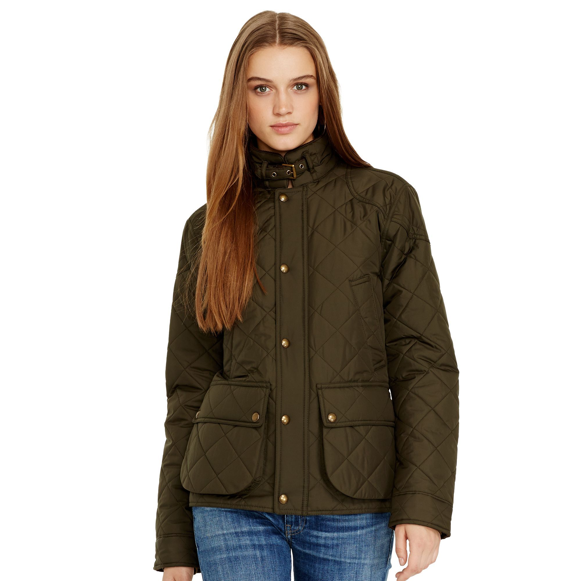 navy clothing polo quilt in lauren product for blue mens ralph quilted jacket gallery cadwell aviator men lyst bomber normal