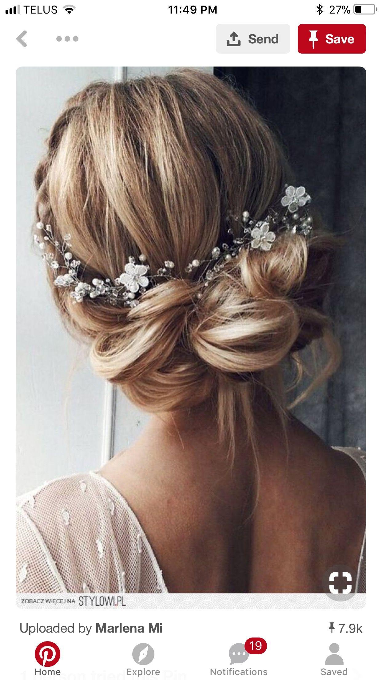 Pinterest Audreykroll In 2019 Bridal Hair Vine Bride