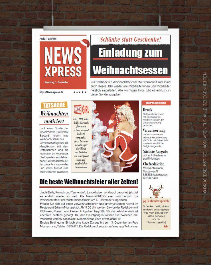 Drucke Selbst Vorlage Lusige Einladung Weihnachtsfeier Einladung Weihnachtsfeier Weihnachtsfeier Weihnachtsvorlagen