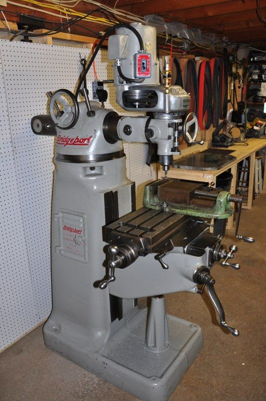 Bridgeport M Head Tools Milling Machine Used Milling