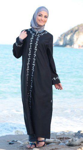 b7d702fa2f83d Fahima-modest Muslim Jilbab--islamic Full Body Swimwear Modest by Sea, http