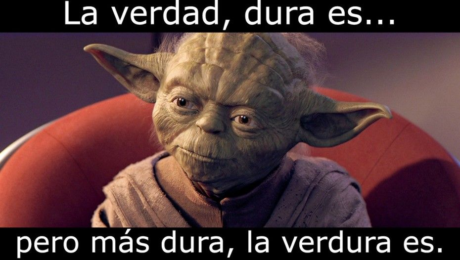 Frases De Yoda La Verdad Star Wars Humor Funny Star Wars Memes Star Wars Memes