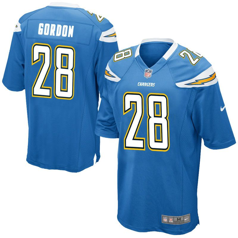 designer fashion 48c0e d9862 Melvin Gordon III Los Angeles Chargers Nike Youth Game ...