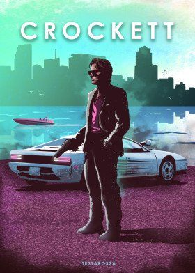 Crockett Car Legends Miami Vice Testarossa Obrazky