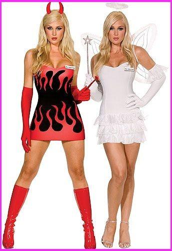 Heavenly devil halloween costume