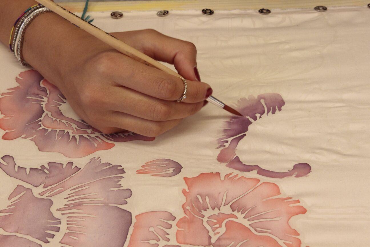 Decoration made on fabric Scuola di moda, Moda, Di moda