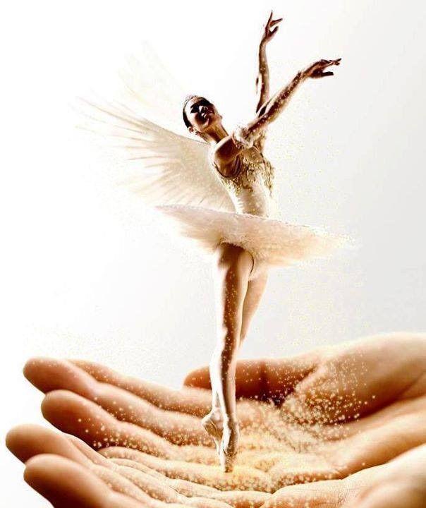 Fairy dancer angel ballet