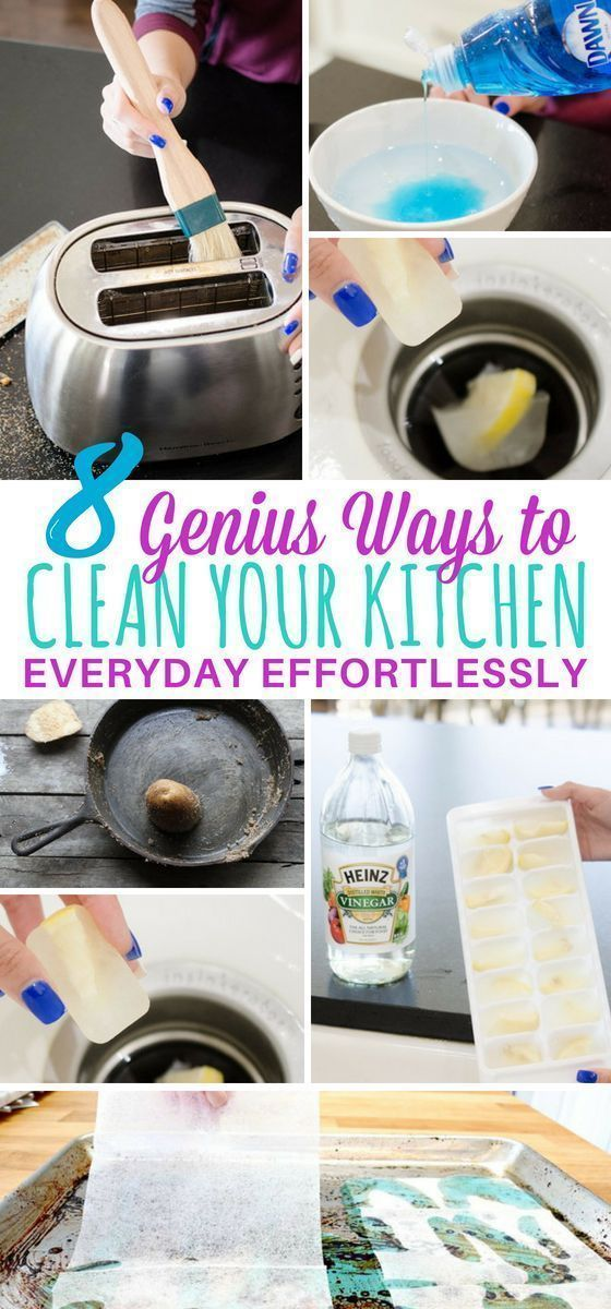 Learn how to clean your kitchen from top to bottom with these easy cleaning hacks Seriously theyre the best