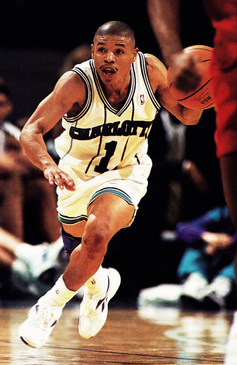 Muggsy Bogues, one of my three favorite players.