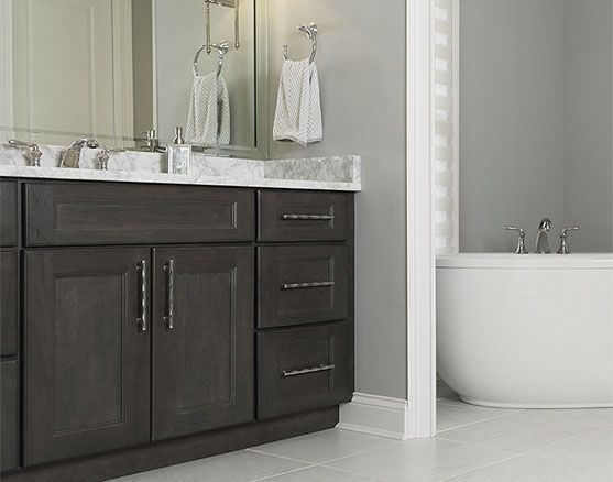 Best Aspect Cabinetry Gallery Basement Bathroom Remodeling 400 x 300