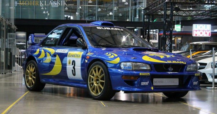 Colin Mcrae S 1997 Subaru Impreza Wrc Is Up For Sale Carscoops Subaru Impreza Wrc Subaru Impreza Subaru Wrc