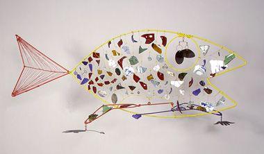 calder mobile fish - Google Search