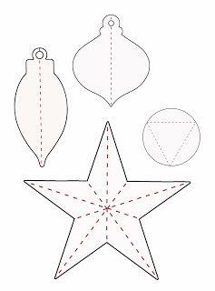 Christmas ornament templates | Christmas Templates & Printables ...
