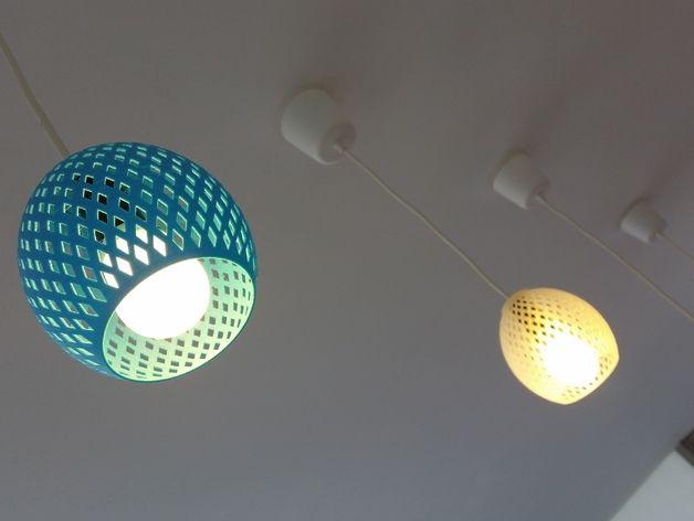 The Classic Lampshade By 3dfactorytlv Thingiverse Energy Saving Light Bulbs 3dprinting Design Saving Light