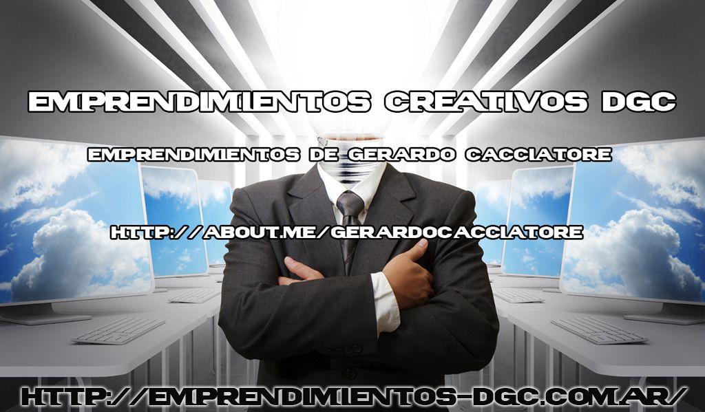 Emprendimientos de Gerardo Cacciatore