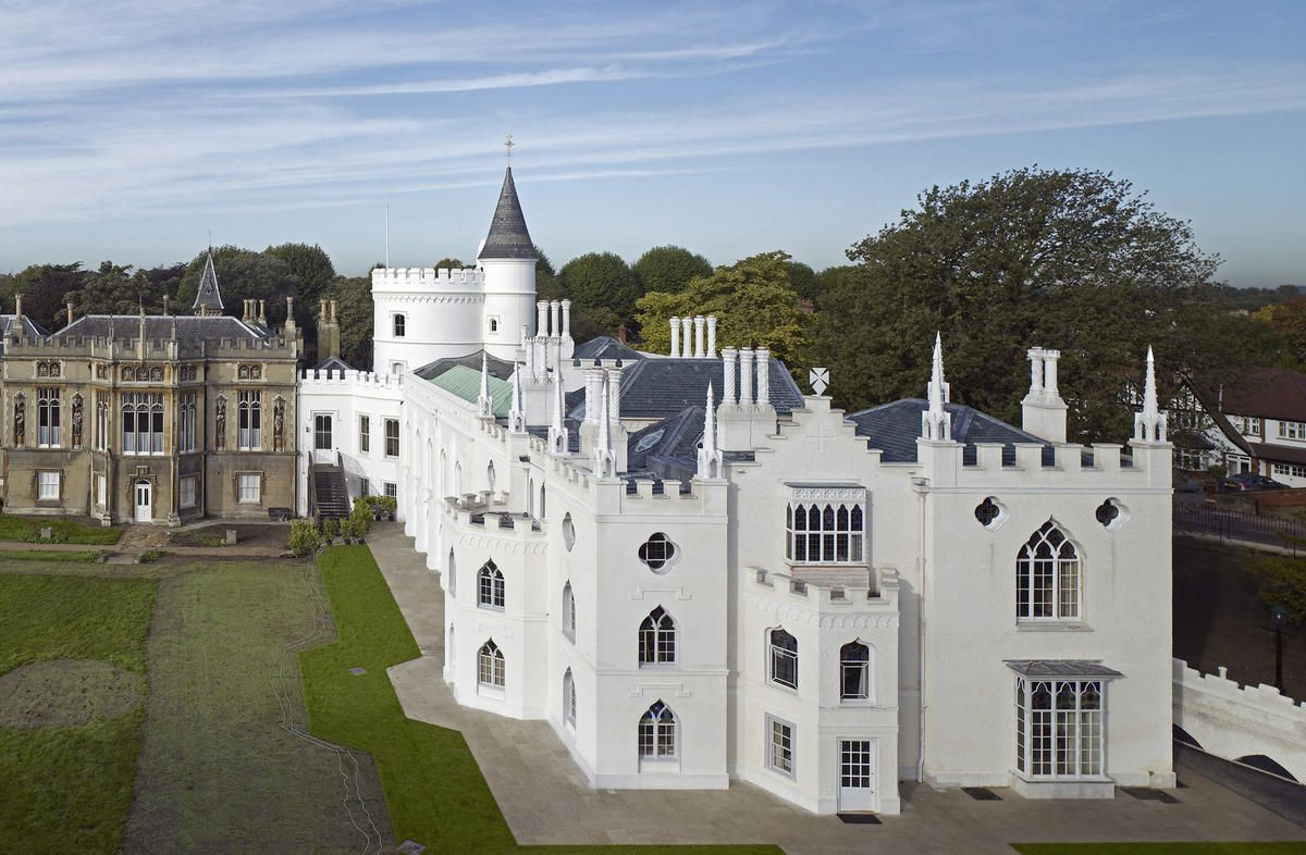 Strawberry Hill Strawberry Hill House Gothic Revival Architecture Gothic House