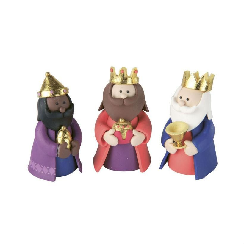 Culpitt Three Kings Cake Topper from Bath Cake Company