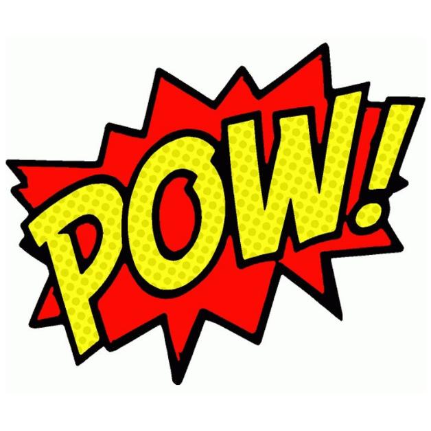 Comic Pow Clipart Festa De Super Herois Festa De Aniversario De Super Heroi Festa Dos Vingadores