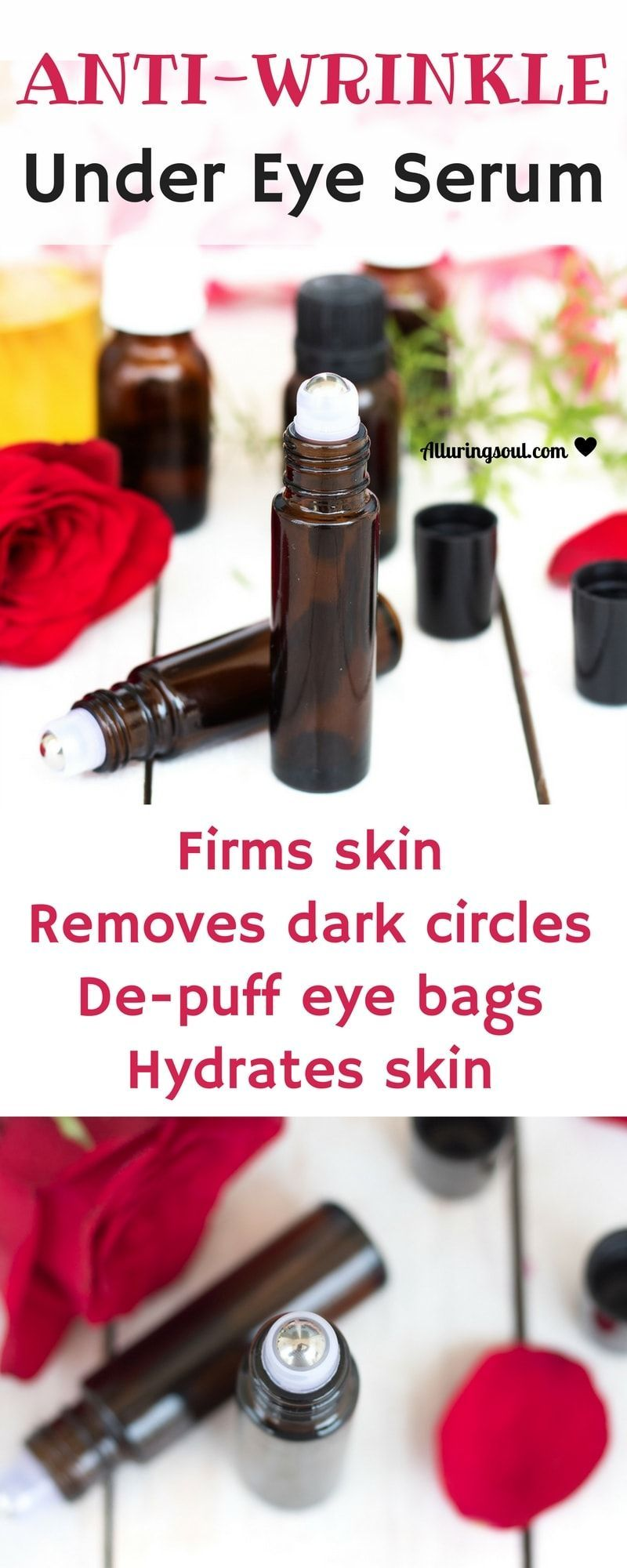 Anti Wrinkle Under Eye Serum Will Help To Remove Fine Lines And Wrinkle Removes Dark Circle Anti Aging Skin Products Anti Aging Essential Oil Recipes Undereye