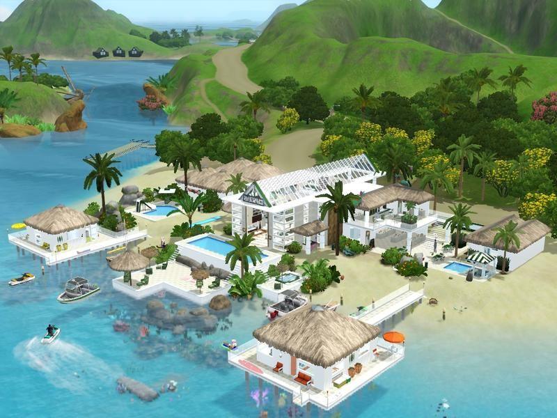 mrsimulatoru0027s Le Thala Resort Sims3 - Häuser Pinterest Häuschen - sims 3 wohnzimmer modern