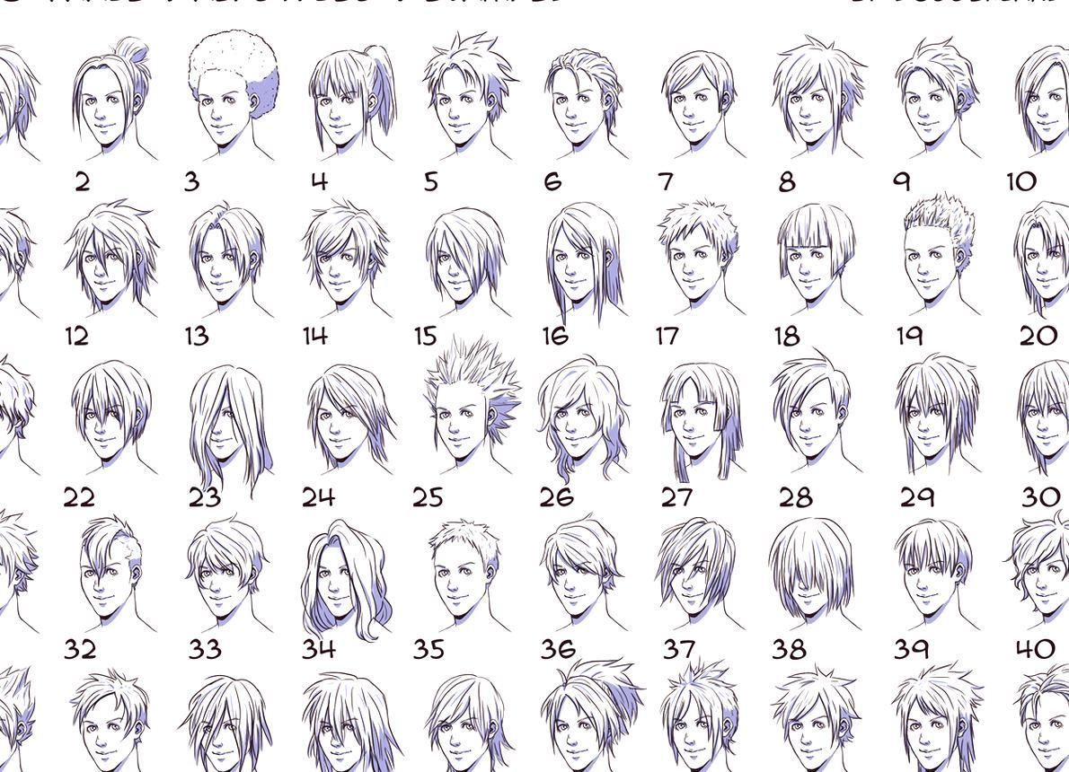 Anime Hairstyles For Guys Side View You Most Likely Already Know That Anime Hairstyles For Guys Side View Is On In 2020 Manga Hair Anime Boy Hair Anime Hairstyles Male
