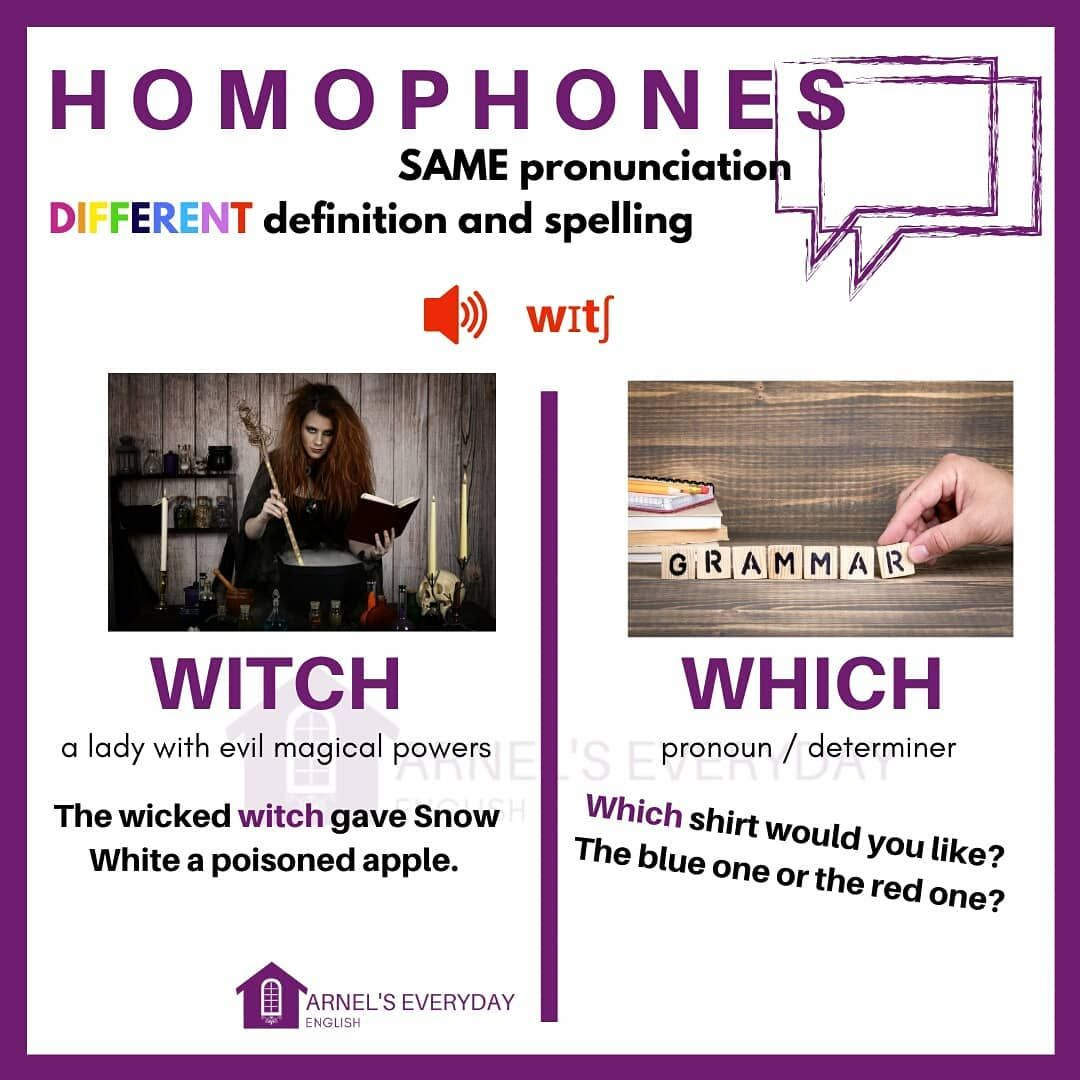 Homophones Part 8 Homophones Are Words Which Sound The