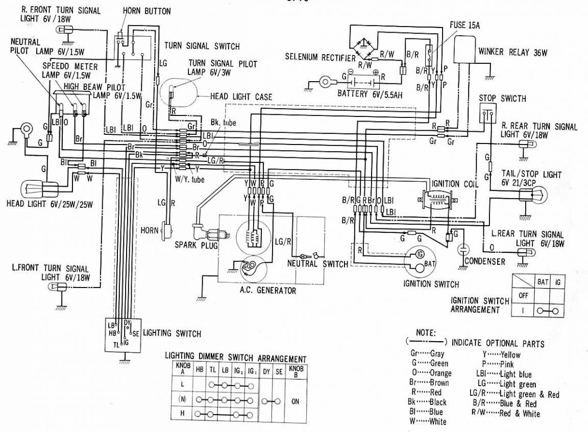 12 Good Wiring Diagram Of Motorcycle Honda Xrm 110