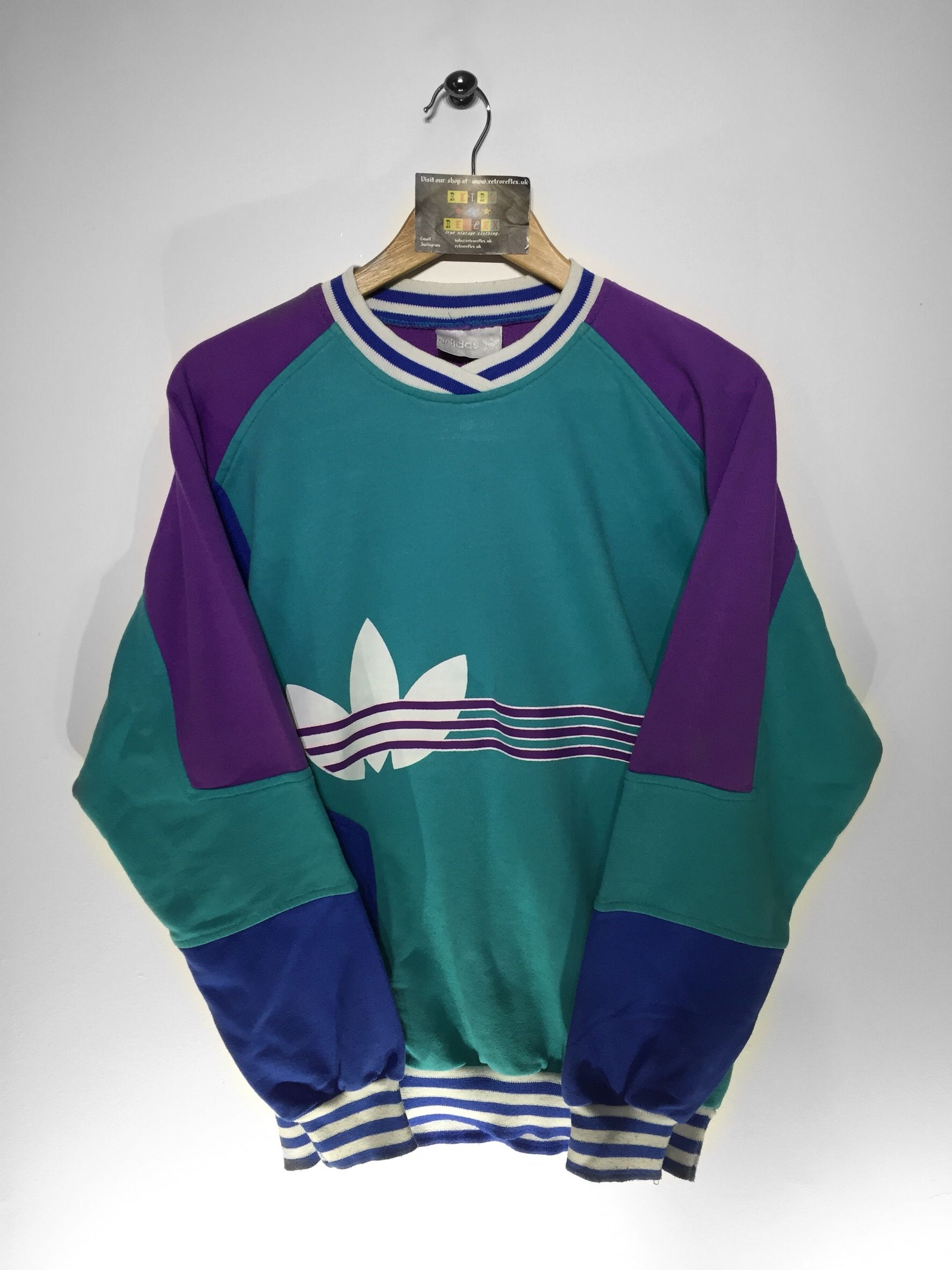 but Sweatshirt £36 Size Fits Adidas Small Oversized Website U6WfZTqnT