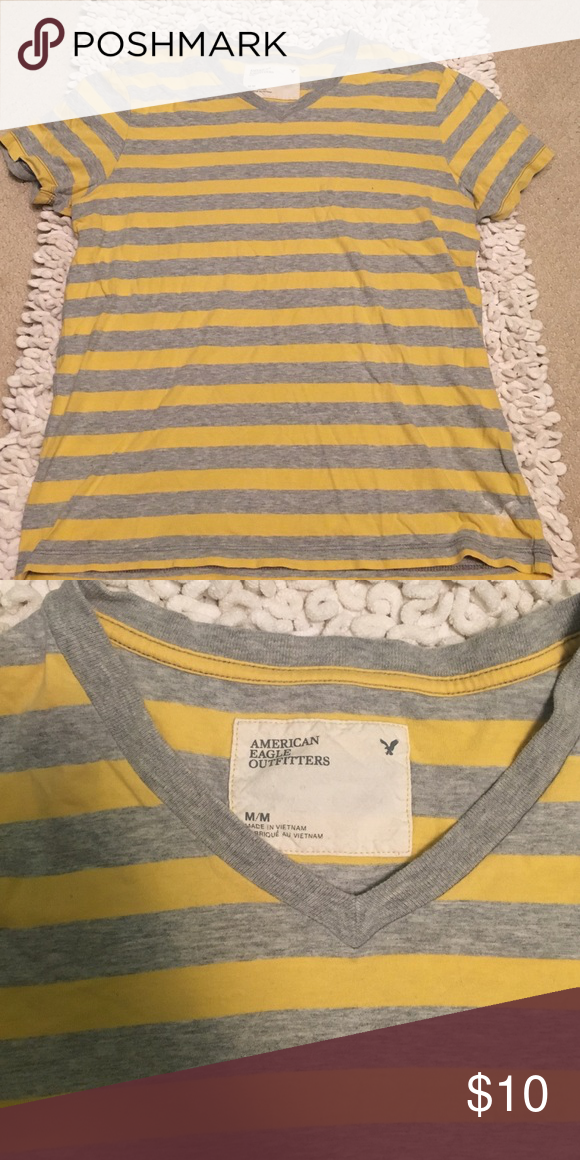 American Eagle Shirt Wore a few times. Still in good condition. No tears or stains! American Eagle Outfitters Shirts Tees - Short Sleeve