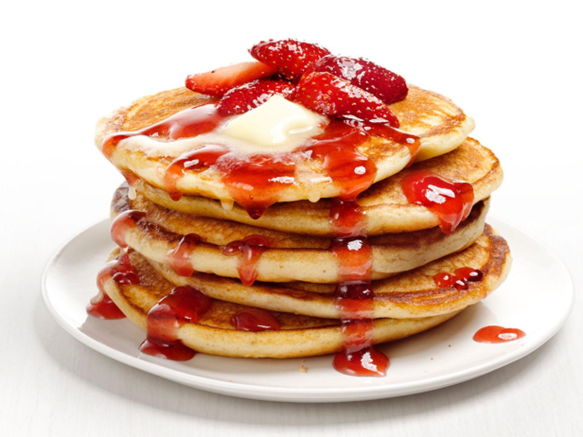 Strawberry Pancake Recipe Food Network