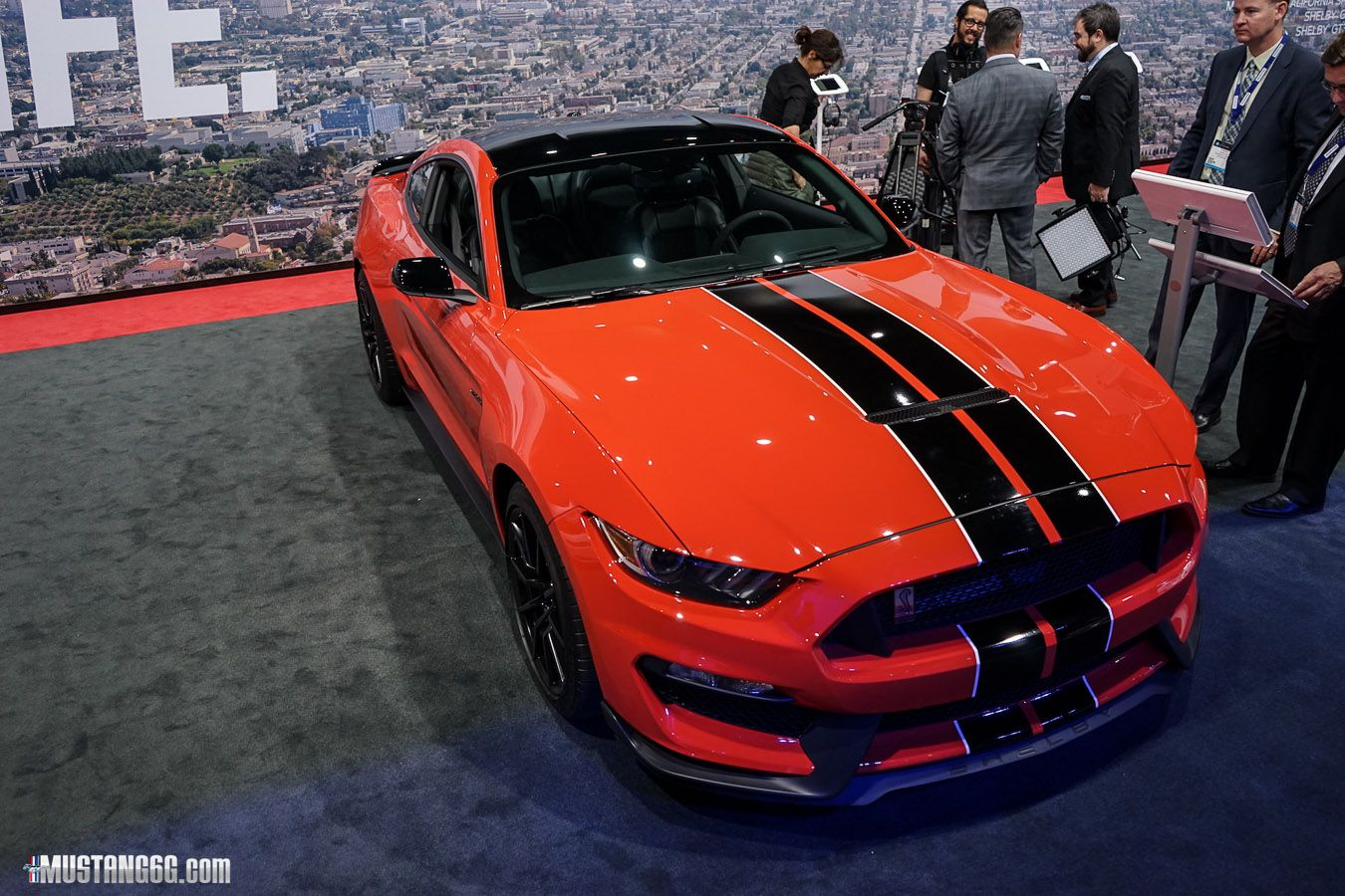 COMPETITION ORANGE GT350/R Thread Ford mustang, Mustang