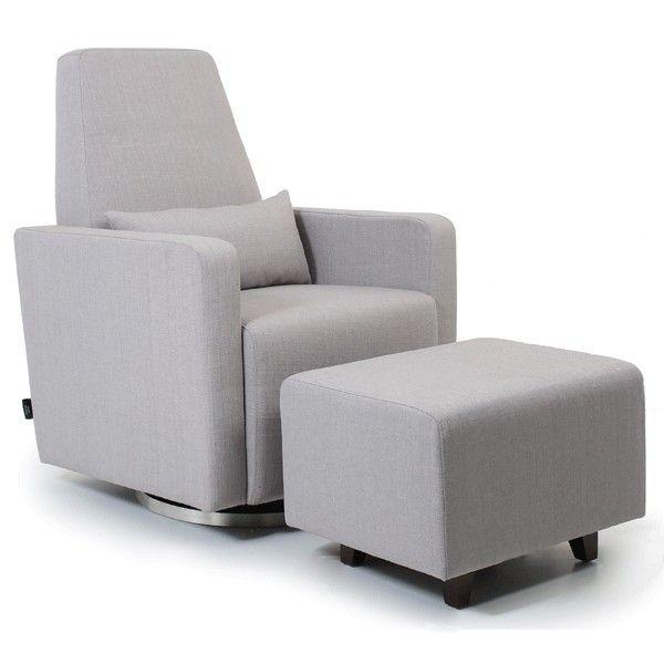Valco Baby Zelda Glider Ash Grey Ash Grey Furniture Home Decor