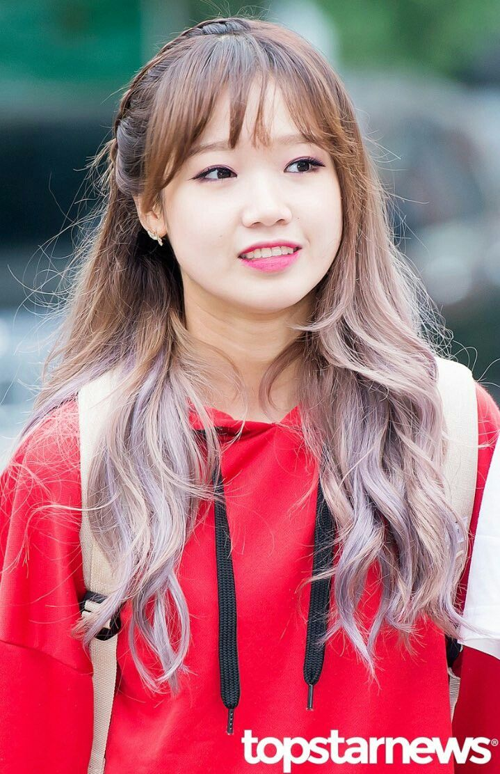 fantagio choi yoojung | 유정✨ | kpop hair, kpop hair color
