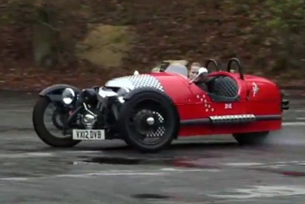 Autocar Finds Pure Joy Behind The Wheel Of Morgan Three Wheeler