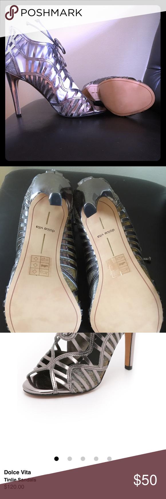 Dolce Vita Sandals Brand New with Box M=medium width Open