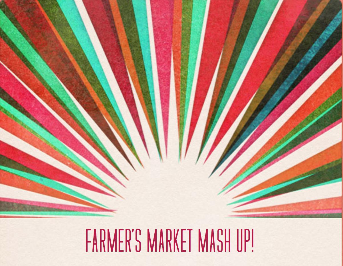 Farmer's Market Mash Up!