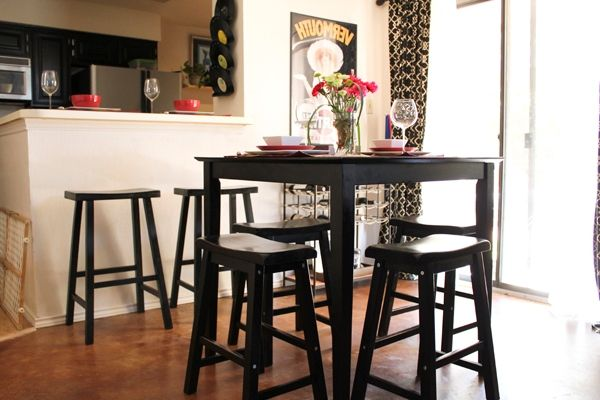 Sleek Tables Small Spaces | Candace Kitchen | Pinterest | Small ...