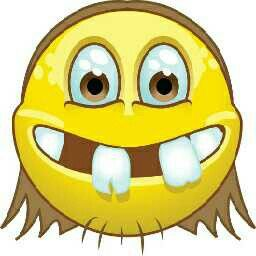 GAP-TOOTH HILLBILLY SMILEY | :) Smileys :) | Emoji pictures