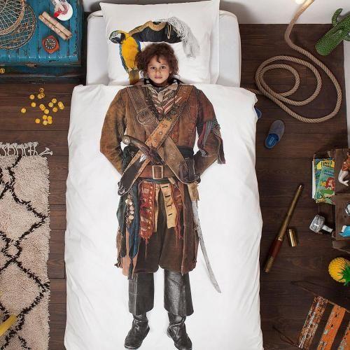 SNURK Piraat dekbedhoes