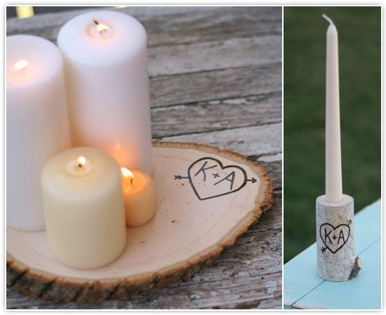 22 Marvelous DIY Ideas For Candle Holders - ArchitectureArtDesigns.com