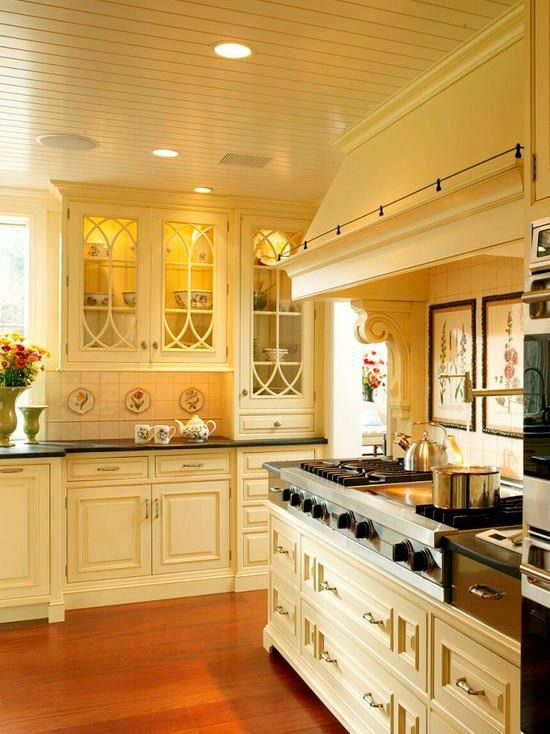 lovely glass doors (With images)   French country kitchen ...