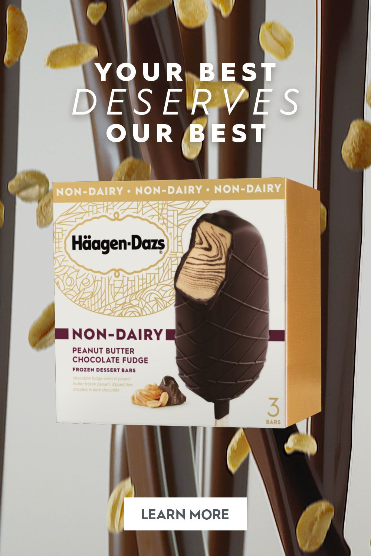 Häagen-Dazs Non-Dairy Peanut Butter Chocolate Fudge Bar images