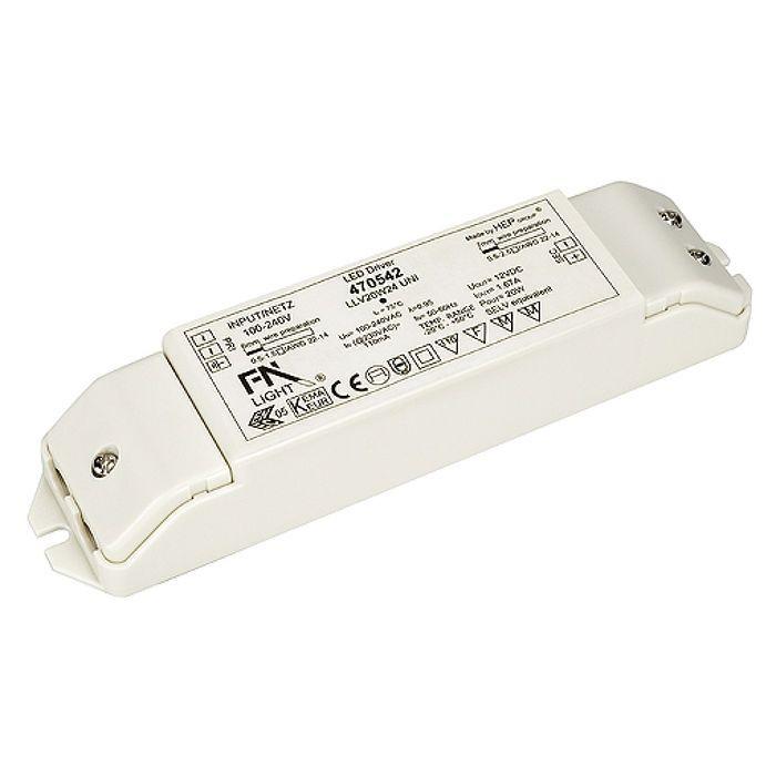 SLV Lighting Accessories - LED Power Unit 20W, 24VDC