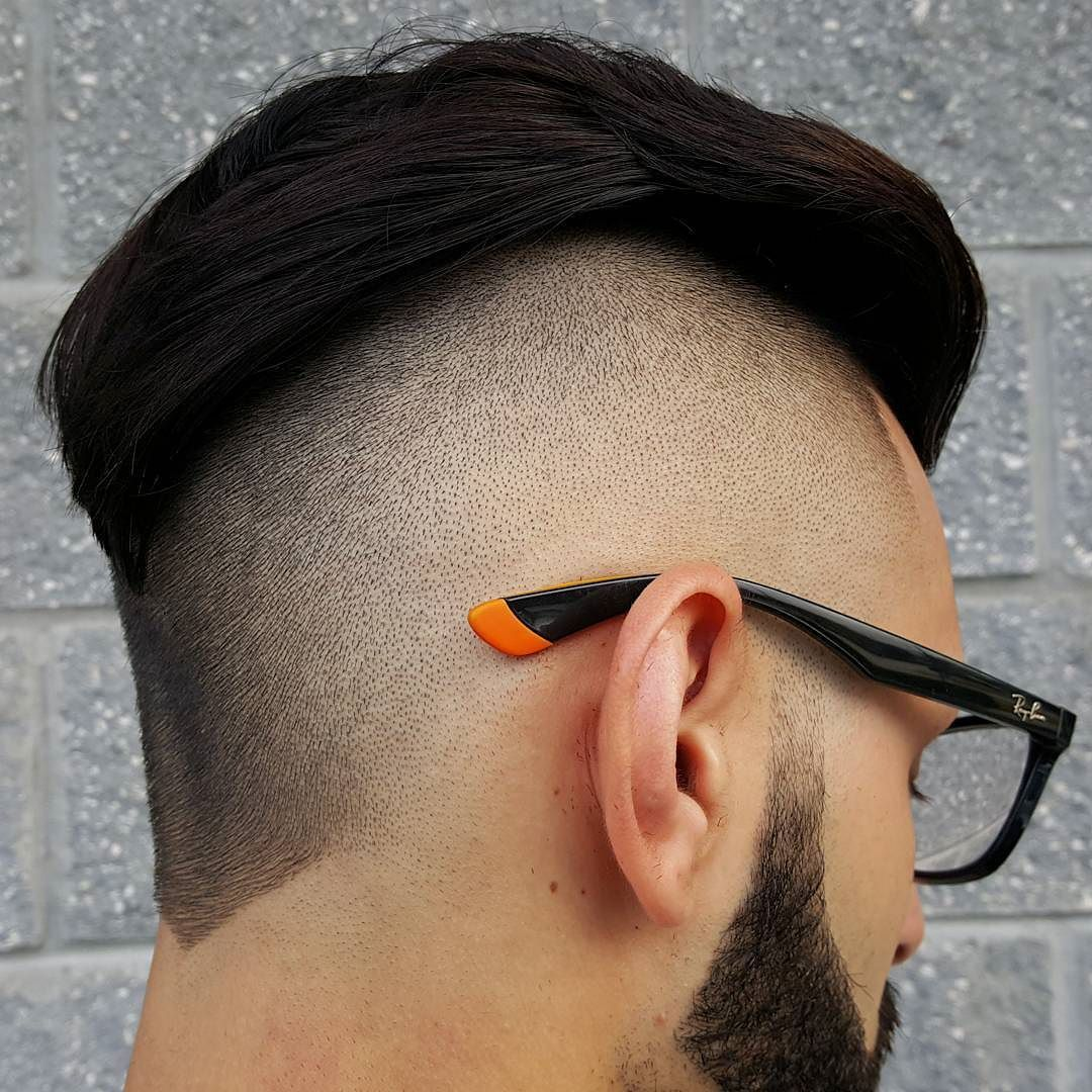 Semi long haircuts for men haircut by fademasterlue probably one of the smoothest fades iuve