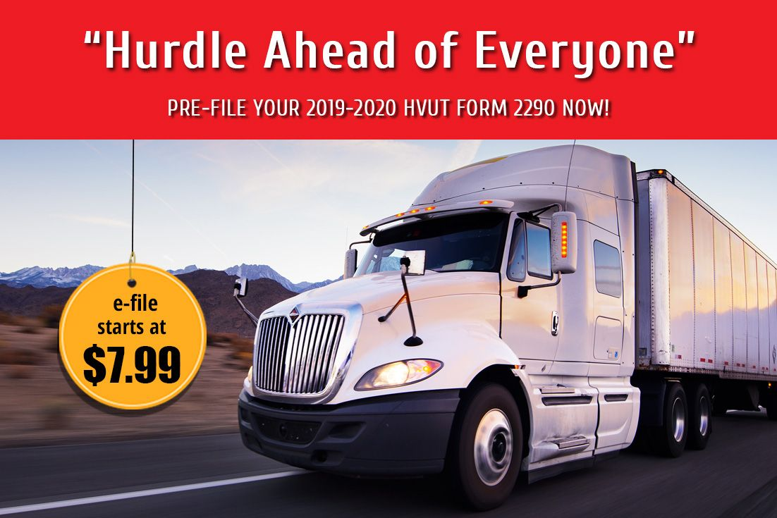 2290 form 2020  Truckers, the time to Pre-Renew your HVUT Form 10 for the ...