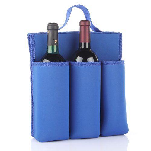 Lagute 6 Bottle Neoprene Wine Tote Neoprene Wine Tote Canvas Wine Tote Wine Tote